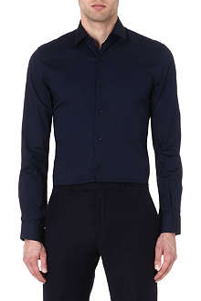 REISS Drive slim-fit stretch-cotton shirt