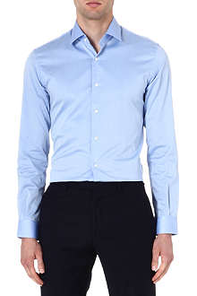 REISS Driver slim-fit cotton shirt