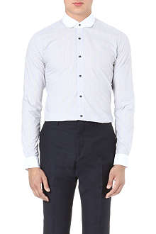 REISS Latham checked shirt