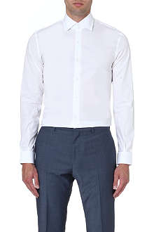 REISS Zinc classic-fit stretch-cotton shirt
