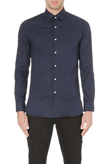 REISS Driver cotton-twill shirt
