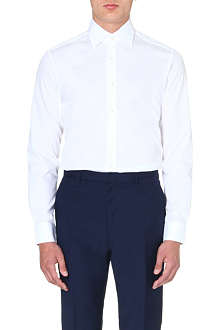 REISS Slim-fit point collar shirt