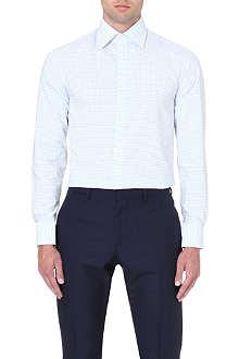 REISS Gable classic-fit polka-dot shirt