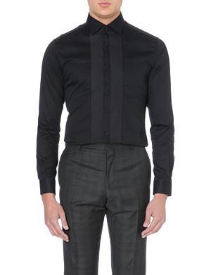 REISS Roulette single-cuff cotton shirt