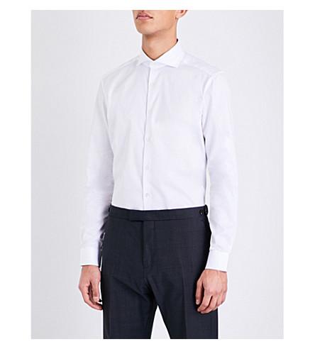 REISS Angeles slim-fit cotton shirt (White