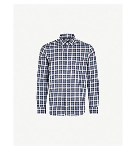 REISS Princey cotton shirt (Navy
