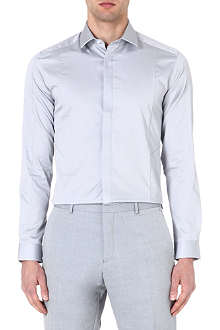 REISS Star slim-fit cotton shirt
