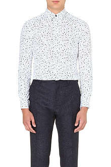 REISS Ruther circle print shirt