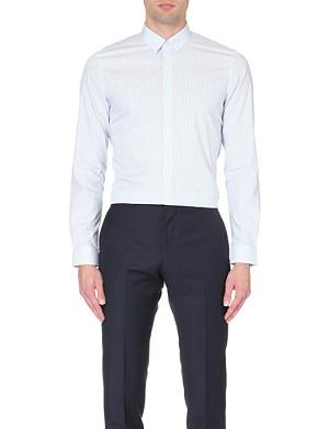 REISS Lewis slim-fit striped shirt