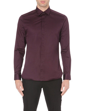 REISS Dust slim-fit cotton shirt