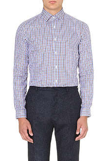 REISS Marty slim-fit check shirt