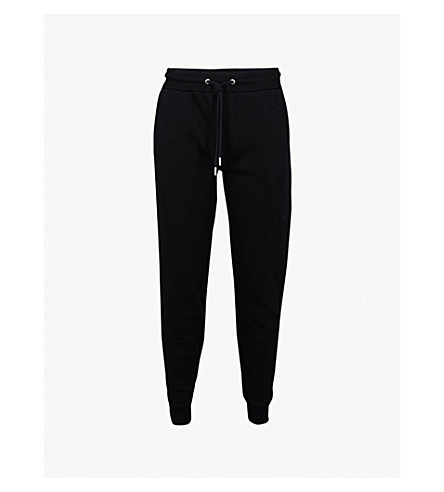 REISS Alistar jersey jogging bottoms (Black