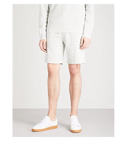 REISS Joey cotton-jersey shorts (Mint