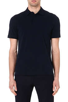 REISS Cobb cotton polo shirt