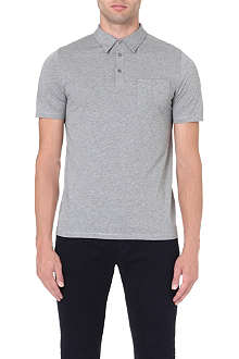 REISS Wilson jersey polo shirt