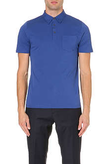 REISS Wilson cotton-jersey polo shirt