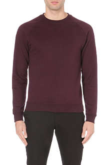 REISS Grant stitch-detail sweatshirt