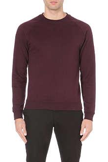 REISS Grant stitch-detail sweatshirt