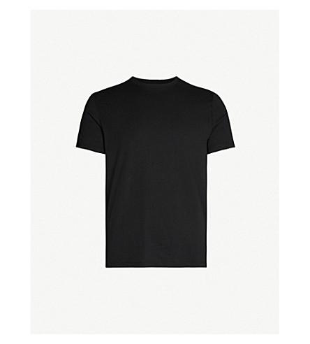REISS Bless cotton-jersey T-shirt (Black