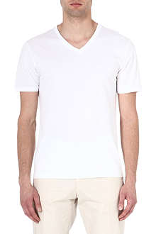 REISS Dayton basic v-neck t-shirt