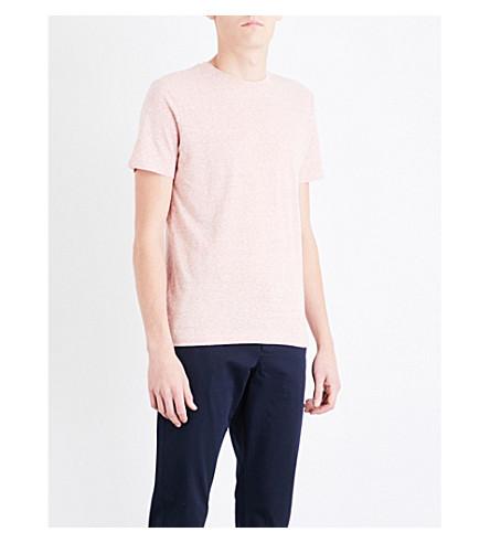 REISS Sonar jersey T-shirt (Pink