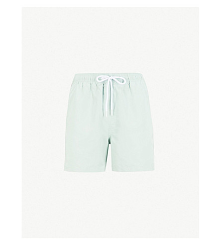 REISS Sonar swim shorts (Mint