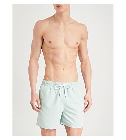 REISS Sonar swim shorts (Mint