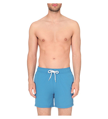 REISS Sonny swim shorts (Bright+blue