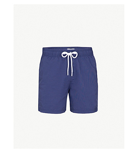 REISS Sonny swim shorts (Navy