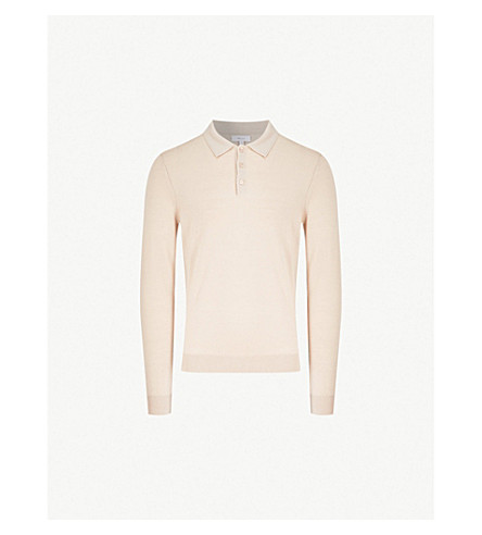 REISS Trafford knitted jumper (Oatmeal