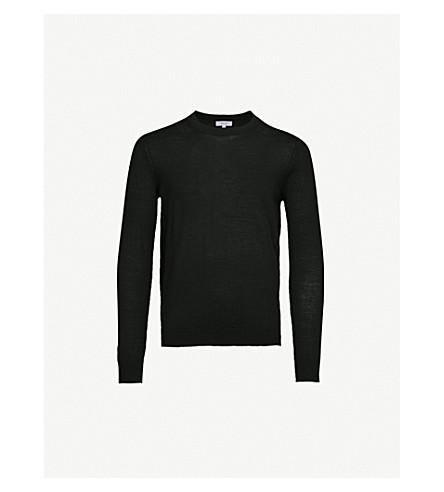 REISS Wessex wool jumper (Black
