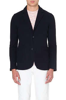 REISS Boiled wool blazer