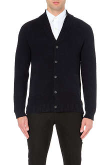 REISS Kingsland shawl collar cardigan