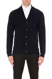 REISS Kingsland shawl collar cardigan