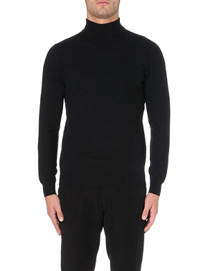REISS Note merino wool jumper