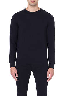 REISS Merino wool crew-neck jumper