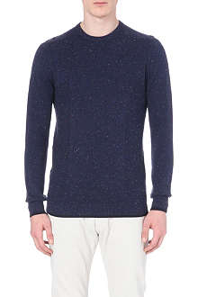 REISS Browning multi fleck jumper