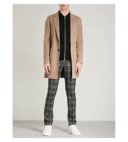REISS Samuel wool-blend coat (Camel