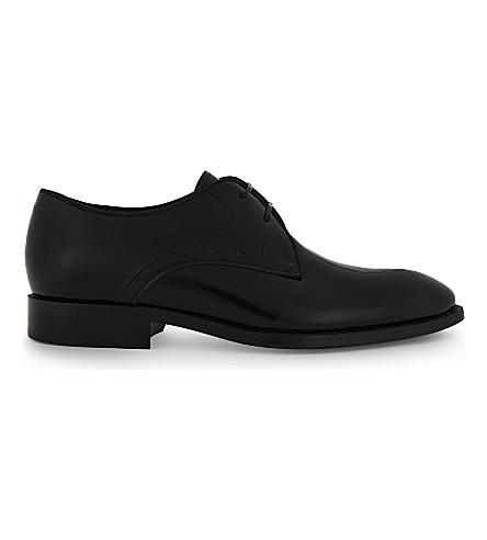 Black REISS Shoes Claridge patent Derby CCgq1