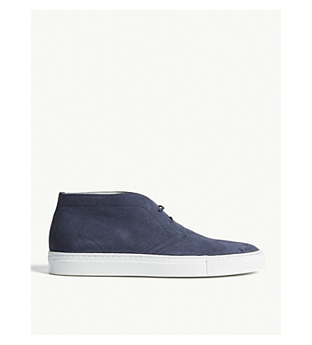 REISS Dylan suede chukka boots (Jeans