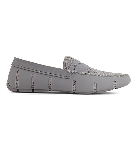 REISS Swims Penny loafers (Grey