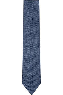REISS Cutler knitted silk tie