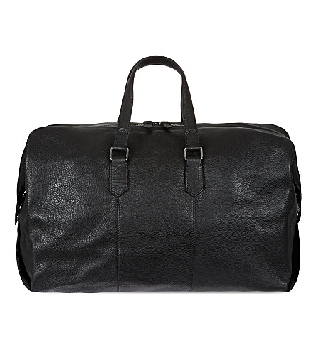 REISS Hines weekend holdall (Black