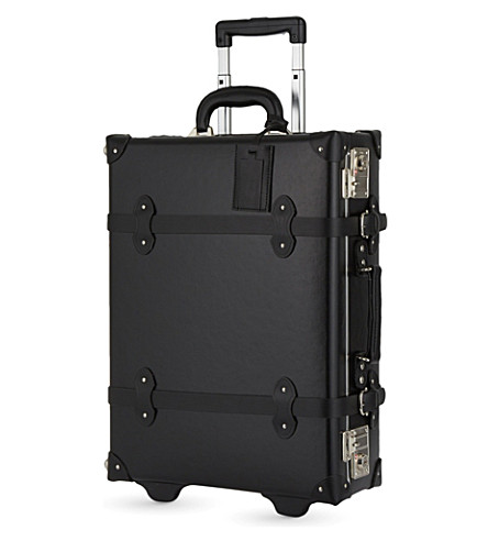 REISS Wayfarer small two-wheel suitcase 55cm (Black