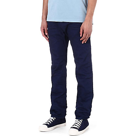 DIESEL Darron regular-fit tapered jeans (86g+(blue)