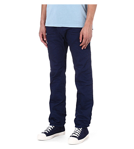DIESEL Darron regular-fit tapered jeans (86g (blue)