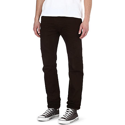 DIESEL Darron regular-fit tapered jeans (7aq (brown)