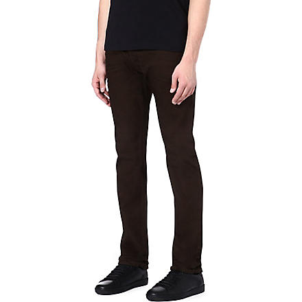 DIESEL Darron regular-fit tapered jeans (Brown