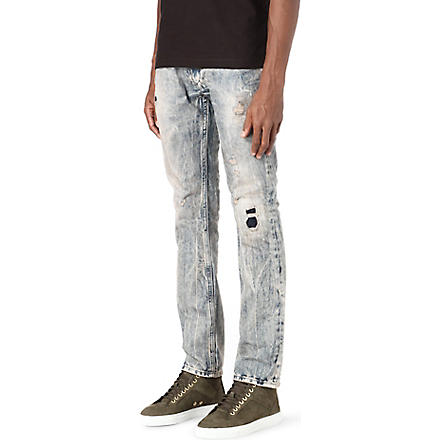 DIESEL Thanaz 0813z slim-fit skinny jeans (Blue