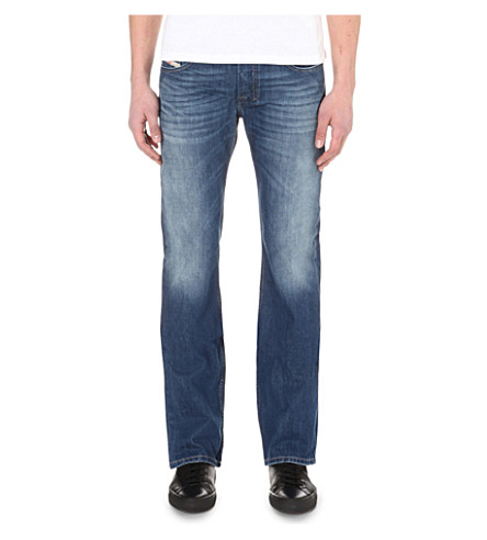 DIESEL Zatiny 08XR slim-fit bootcut jeans (Denim